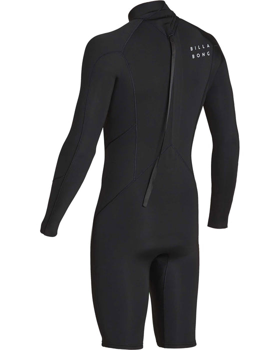 Billabong 202 Absolute BZ L/S Springsuit-Black/Silver
