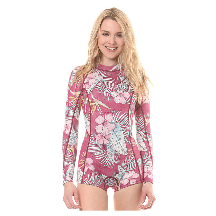 Billabong Mas Tropical Spring Fever L S Springsuit-Sangria — REAL  Watersports e4c832162