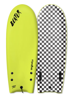 "Catch Surf Beater Twin Fin 54""-Electric Lemon"