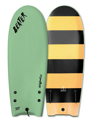 "Catch Surf Beater Twin Fin Soft Top 54""-Mint"
