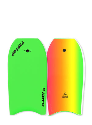 "Catch Surf Classic Bodyboard 42""-Neon Green"
