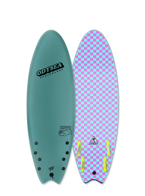 "Catch Surf Skipper Soft Top 5'6""-Steel Green"