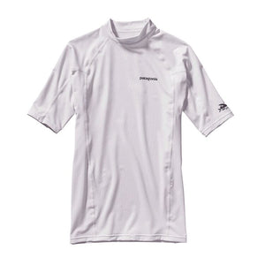 Patagonia R0 Rashguard-White w/Feather Grey