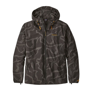 Patagonia Stretch Terre Planing Hooded Jacket-Ink Black