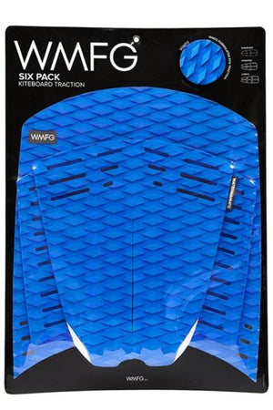 WMFG Classic 2.0 Six Pack Traction Pad-Blue