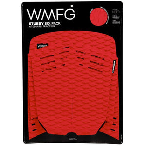 WMFG Stubby 2.0 Six Pack Traction Pad-Red