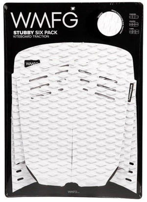 WMFG Stubby 2.0 Six Pack Traction Pad-White