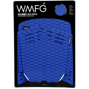 WMFG Stubby 2.0 Six Pack Traction Pad-Blue