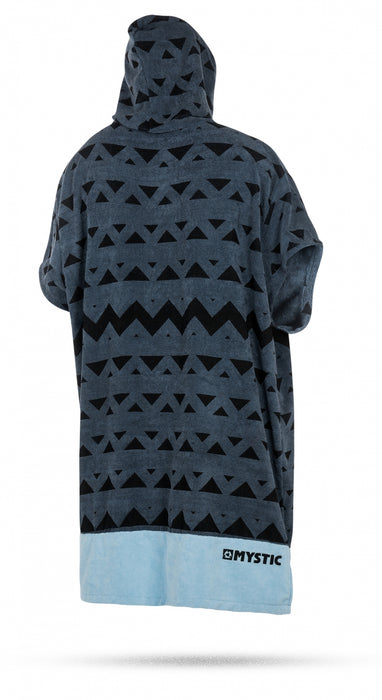 Mystic Poncho Allover Poncho-Pewter
