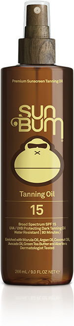 Sun Bum SPF 15 Tanning Oil-9oz