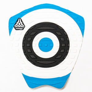 Komunity Bullseye 1 Piece Traction Pad-Blue
