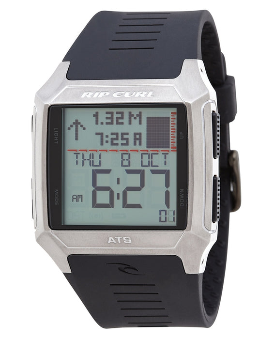 Rip Curl Rifles SS Tide Watch-Black