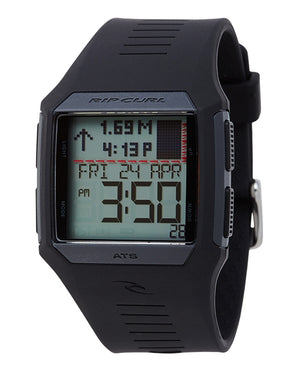 Rip Curl Rifles Midsize Tide Watch-Black