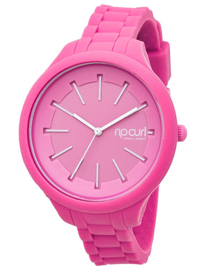 Rip Curl Horizon Silicone Watch-Pink