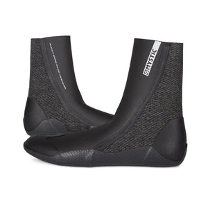 Mystic Supreme Spit Toe 5mm Booties-Black