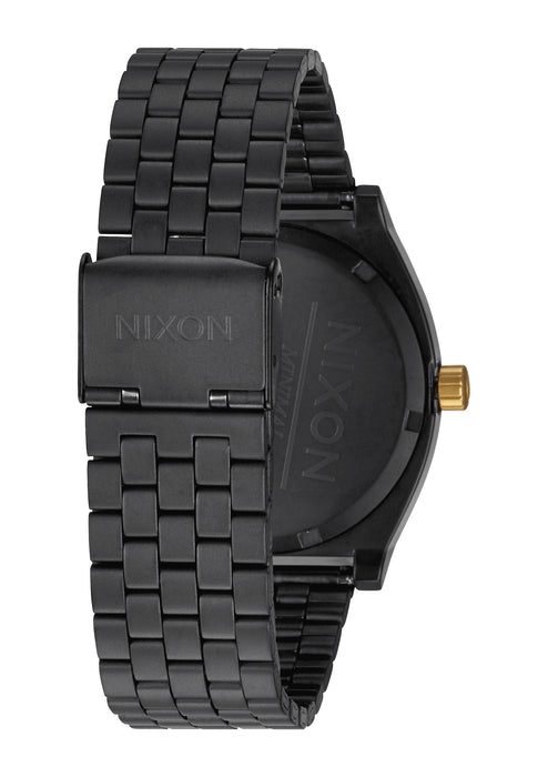Nixon Time Teller Watch-Matte Black/Gold
