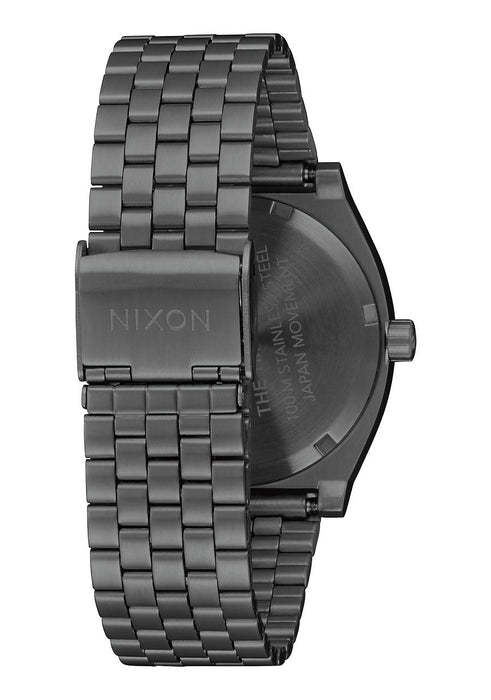 Nixon Time Teller Watch-Gunmetal/Indigo