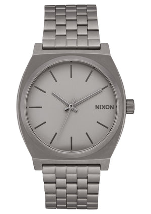 Nixon Time Teller Watch-Dark Steel