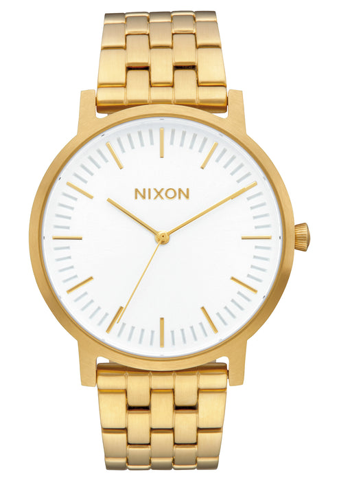 Nixon Porter Watch-All Gold/White Sunray