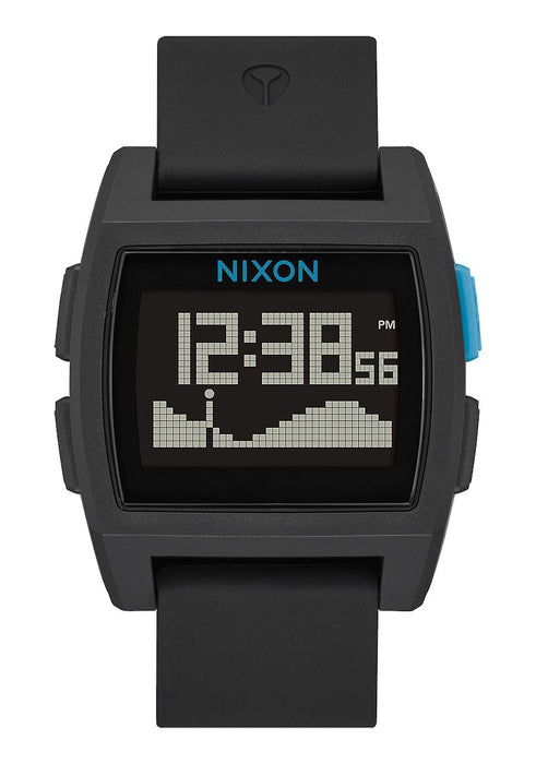 Nixon Base Tide Watch-Black/Blue