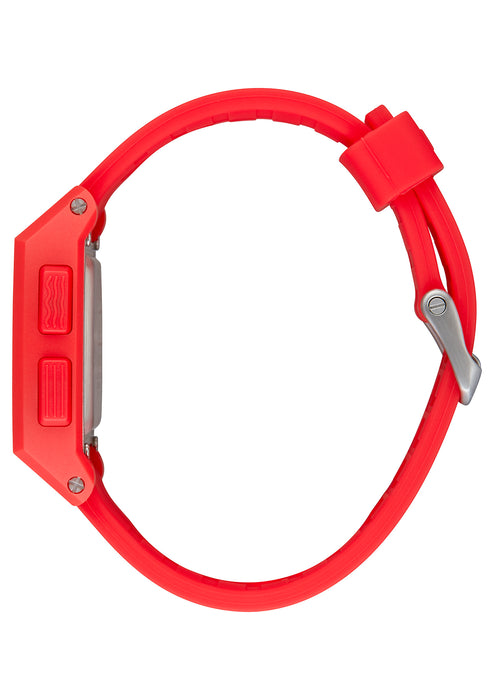Nixon Base Tide Watch-Red