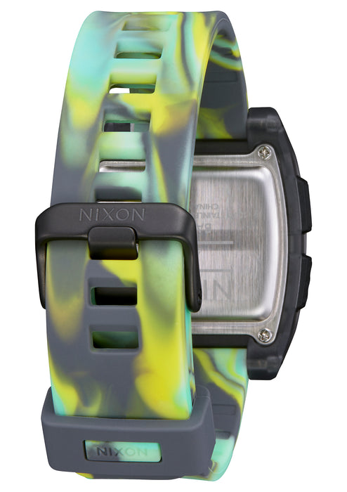 Nixon Base Tide Watch-Green Jellyfish