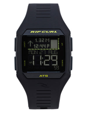 Rip Curl Rifles Midsize Tide Watch-Midnight Lime