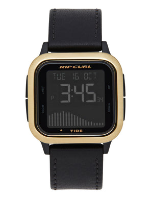 Rip Curl Next Tide Watch-Gold
