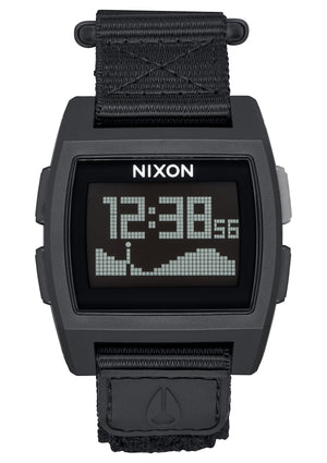Nixon Base Tide Nylon Watch-All Black