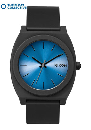 Nixon Time Teller P Watch-Black/Blue/Float