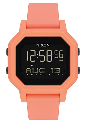 Nixon Siren Watch-Light Tangerine