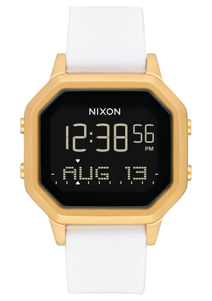 Nixon Siren SS Watch-Gold/White