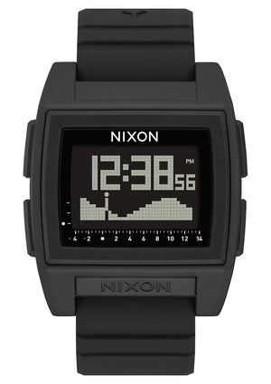 Nixon Base Tide Pro Watch-Black