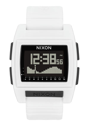 Nixon Base Tide Pro Watch-White