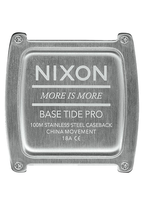 Nixon Base Tide Pro Watch-Grey
