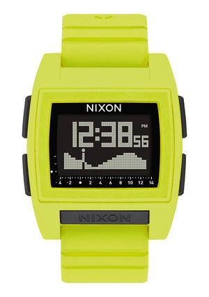 Nixon Base Tide Pro Watch-Lime