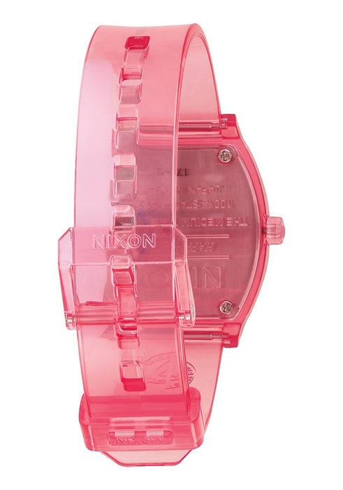 Nixon Medium Time Teller P Watch-Coral