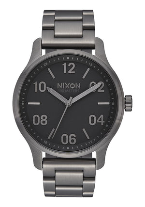 Nixon Patrol Watch-Gunmetal/Black