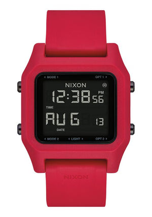 Nixon Staple Watch-Red