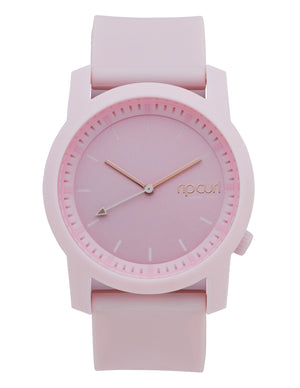 Rip Curl Cambridge Silicon Watch-Pastel Pink