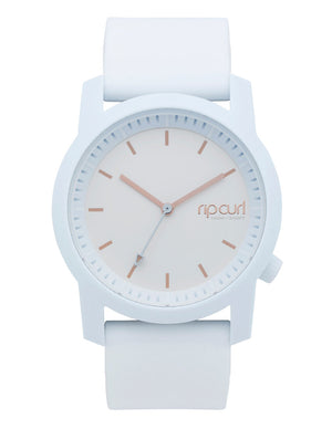 Rip Curl Cambridge Silicon Watch-White