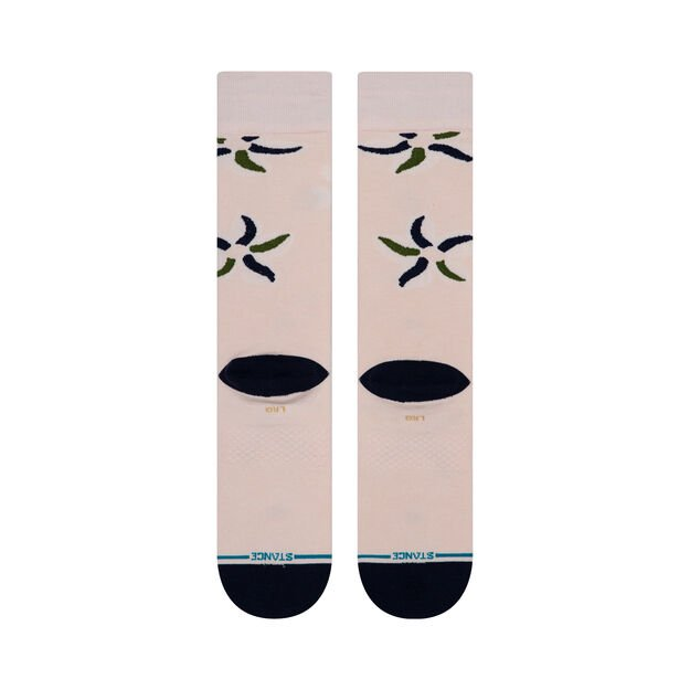 Stance Sonic Bloom Socks-Pink
