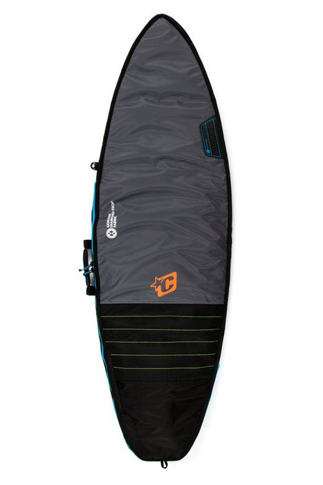Creatures Grom Day Use Boardbag-Charcoal/Cyan