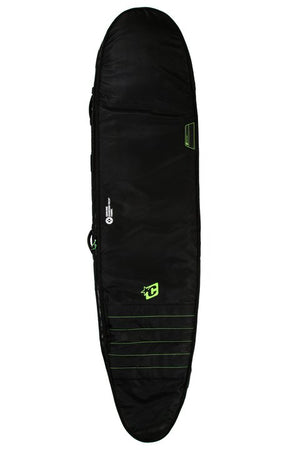 Creatures Double Longboard Boardbag-Black/Lime