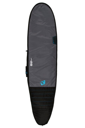 Creatures Longboard Day Use Boardbag-Charcoal/Cyan