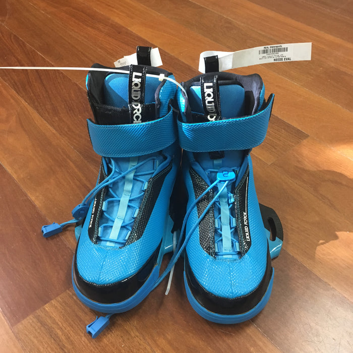 USED Liquid Force LFK Boot-12-15-Blue w/Hardware