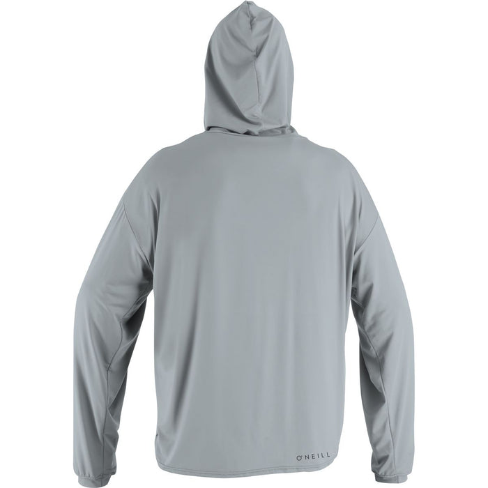 O'Neill 24-7 Traveler Hooded L/S Sun Shirt-Cool Grey