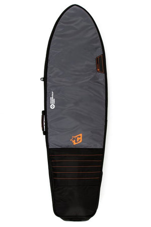 Creatures Fish Travel Boardbag-Black/Orange