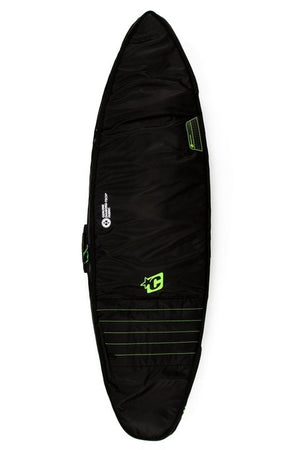 Creatures Double Shortboard Boardbag-Black/Lime