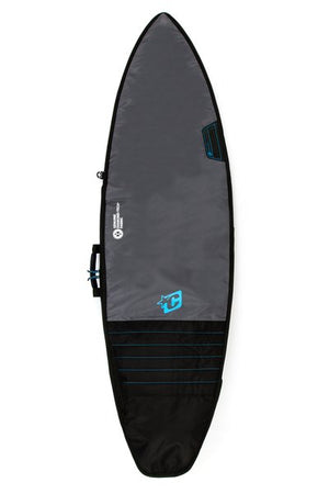 Creatures Shortboard Day Use Boardbag-Charcoal/Cyan